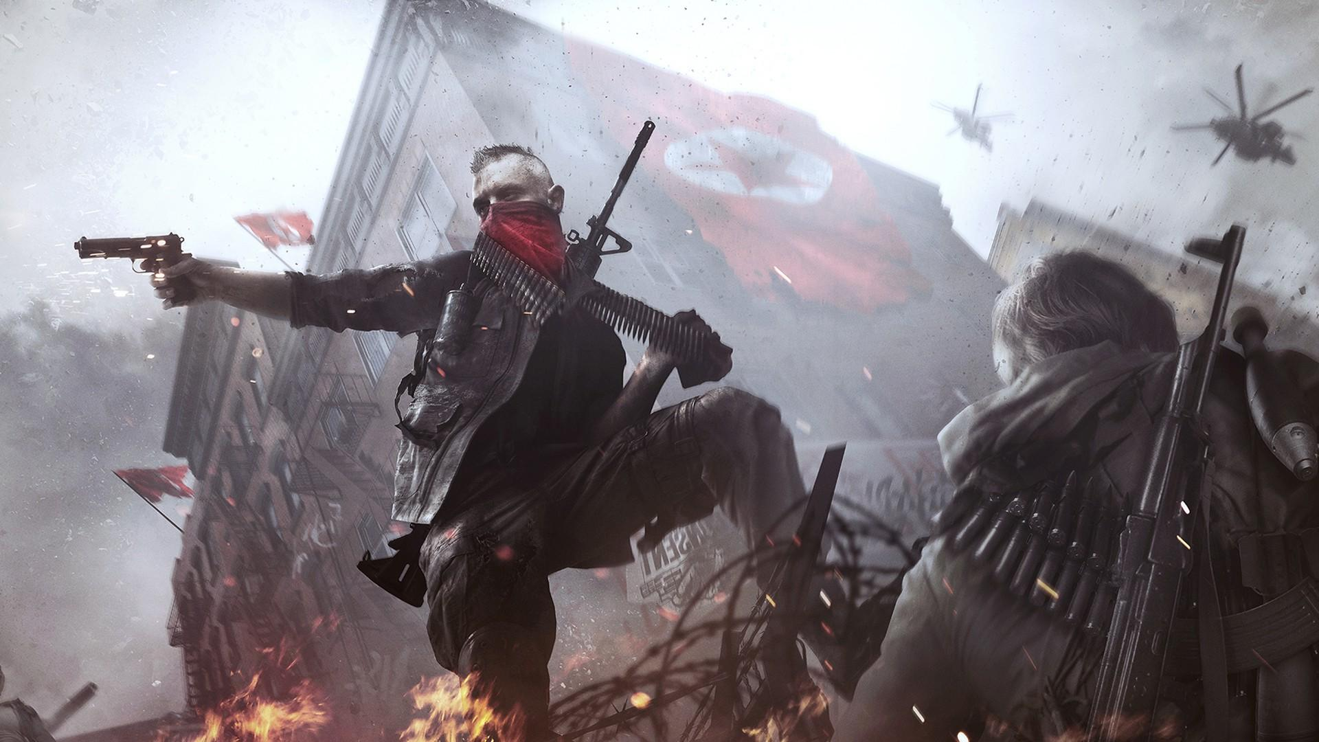 Homefront the revolution for Homefront wallpaper
