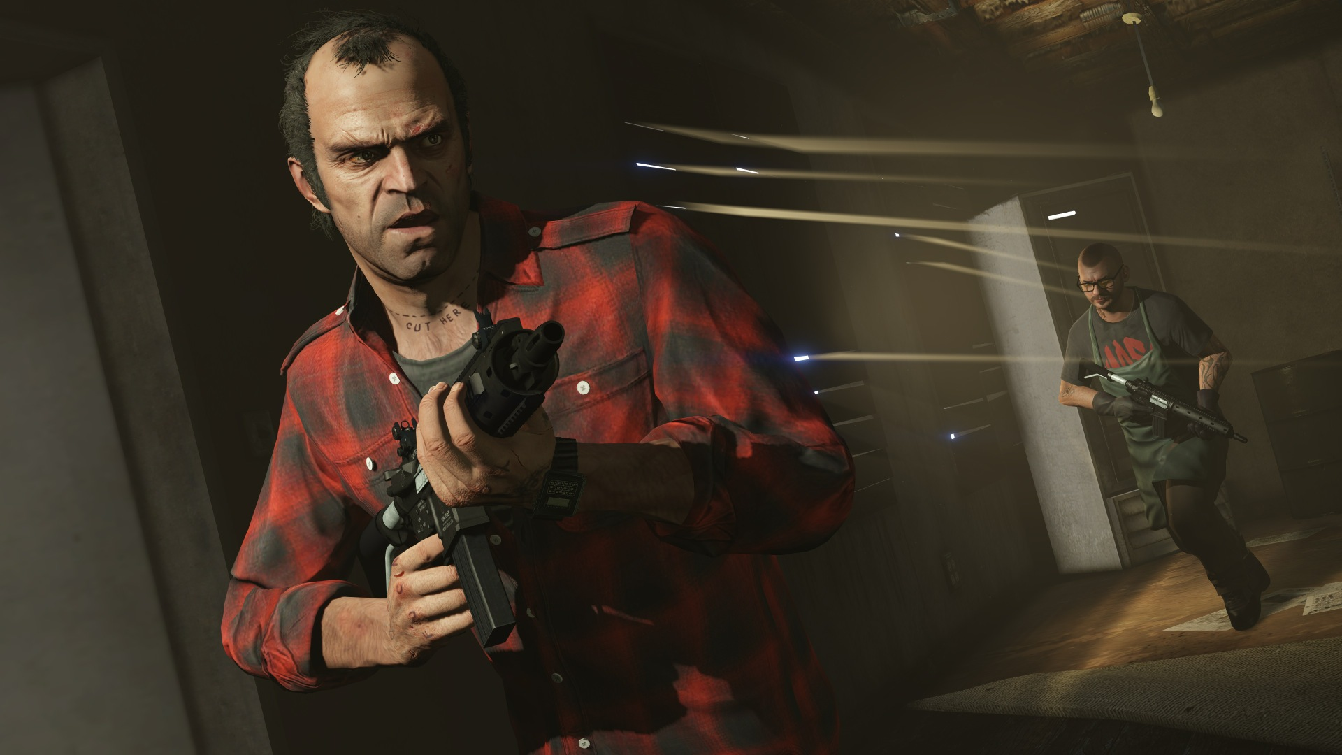 Trevor Philips is my favorite caracter of GTA V because he is just