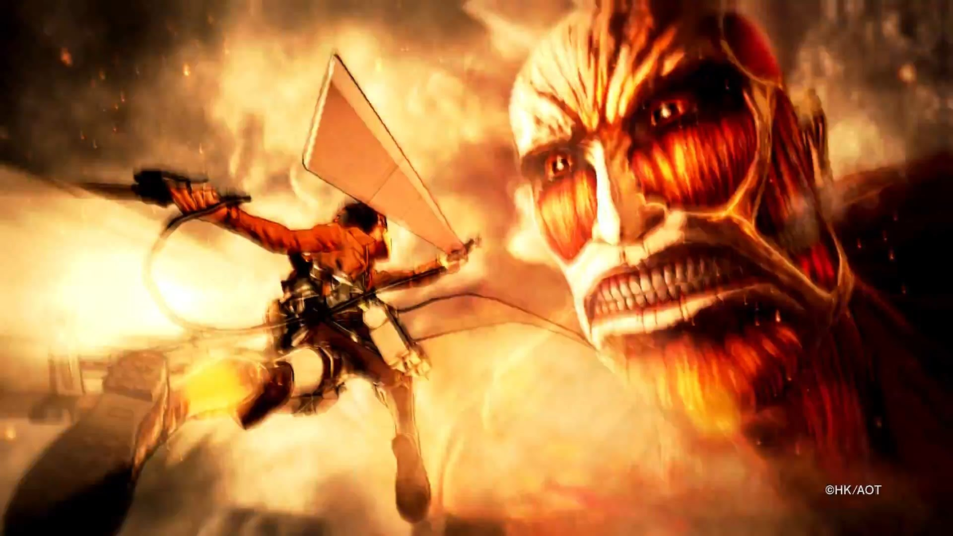 Attack On Titan Coming To Console And Pc August 30th 2016