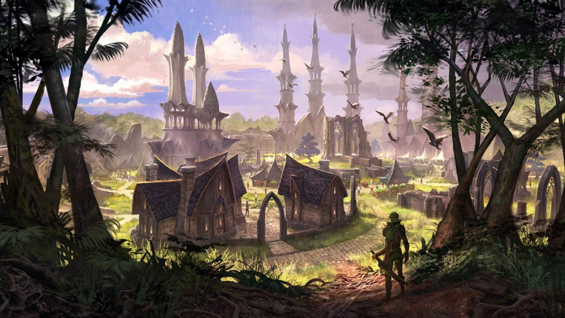 Eso Wallpaper The Elder Scrolls Online 37936141 1920 1080
