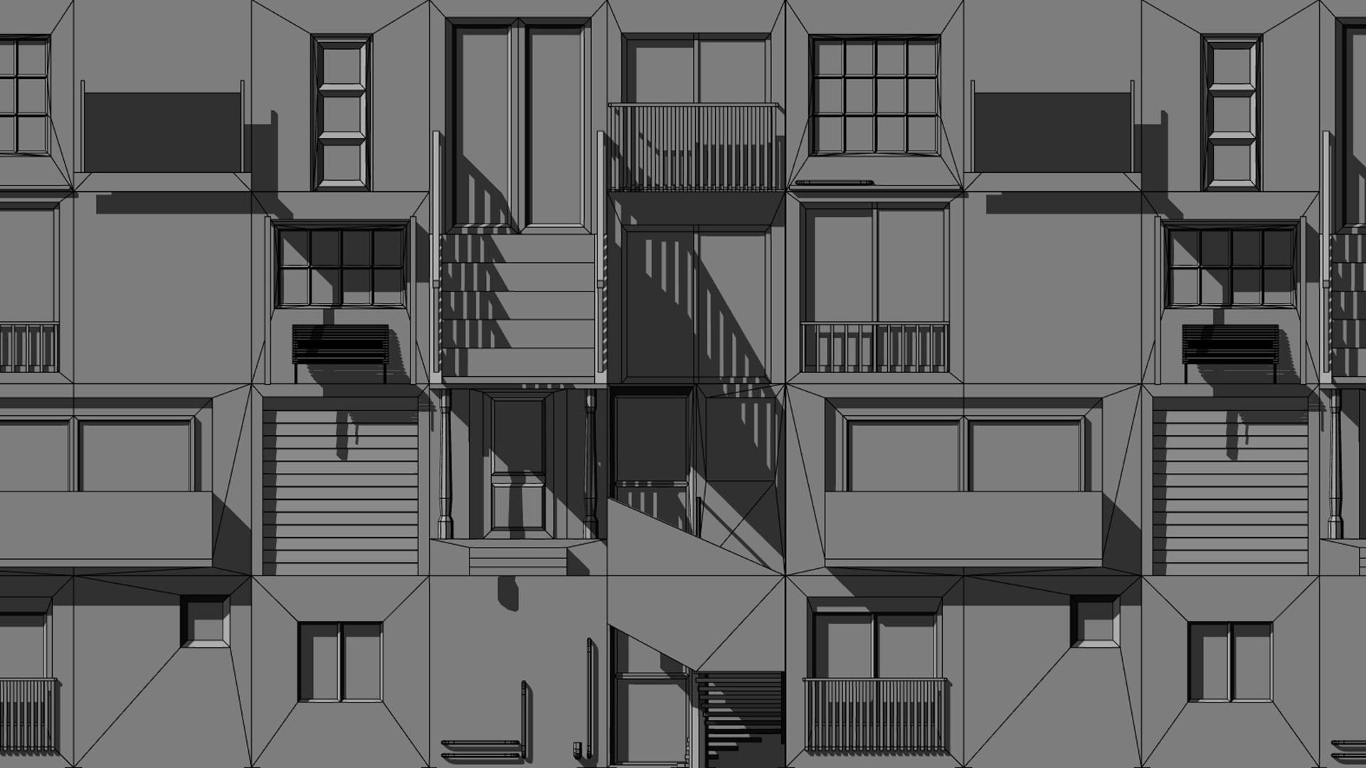 Itch io Gems: Generative City Free Run