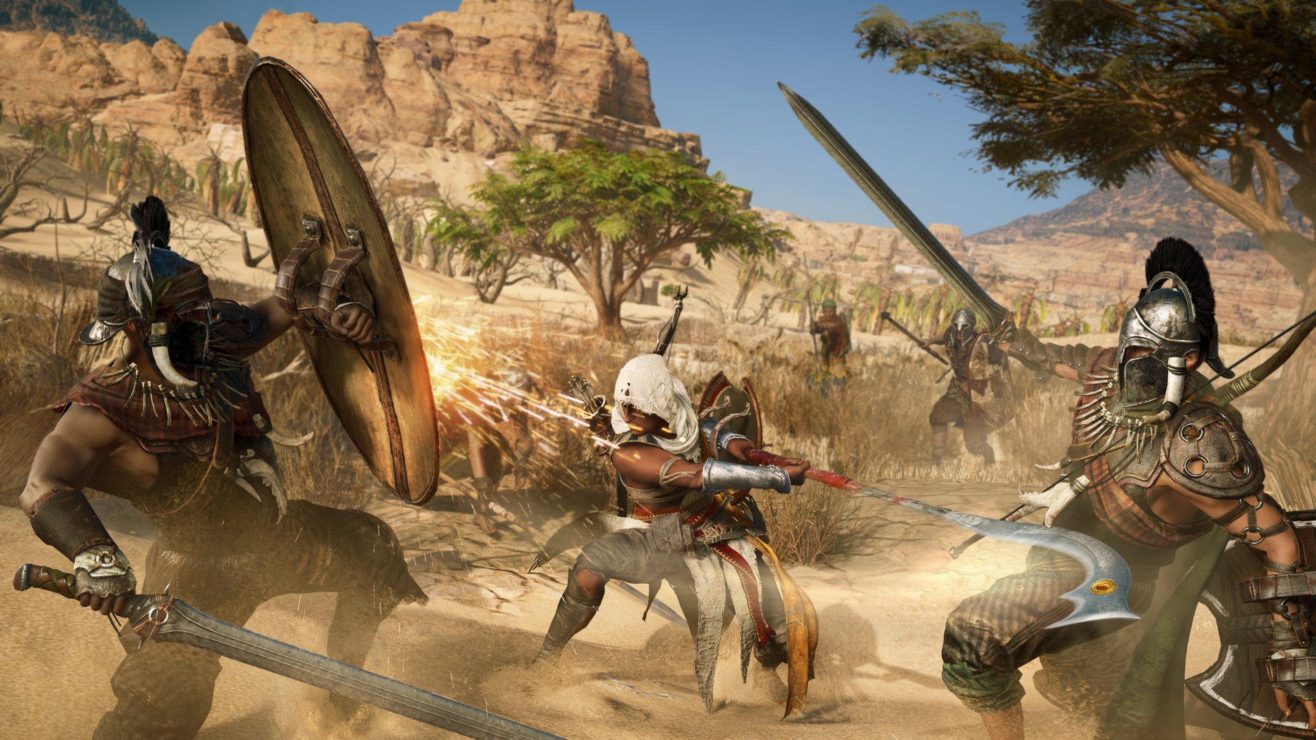 Open World Game Assassins Creed Origins Wallpaper Hd