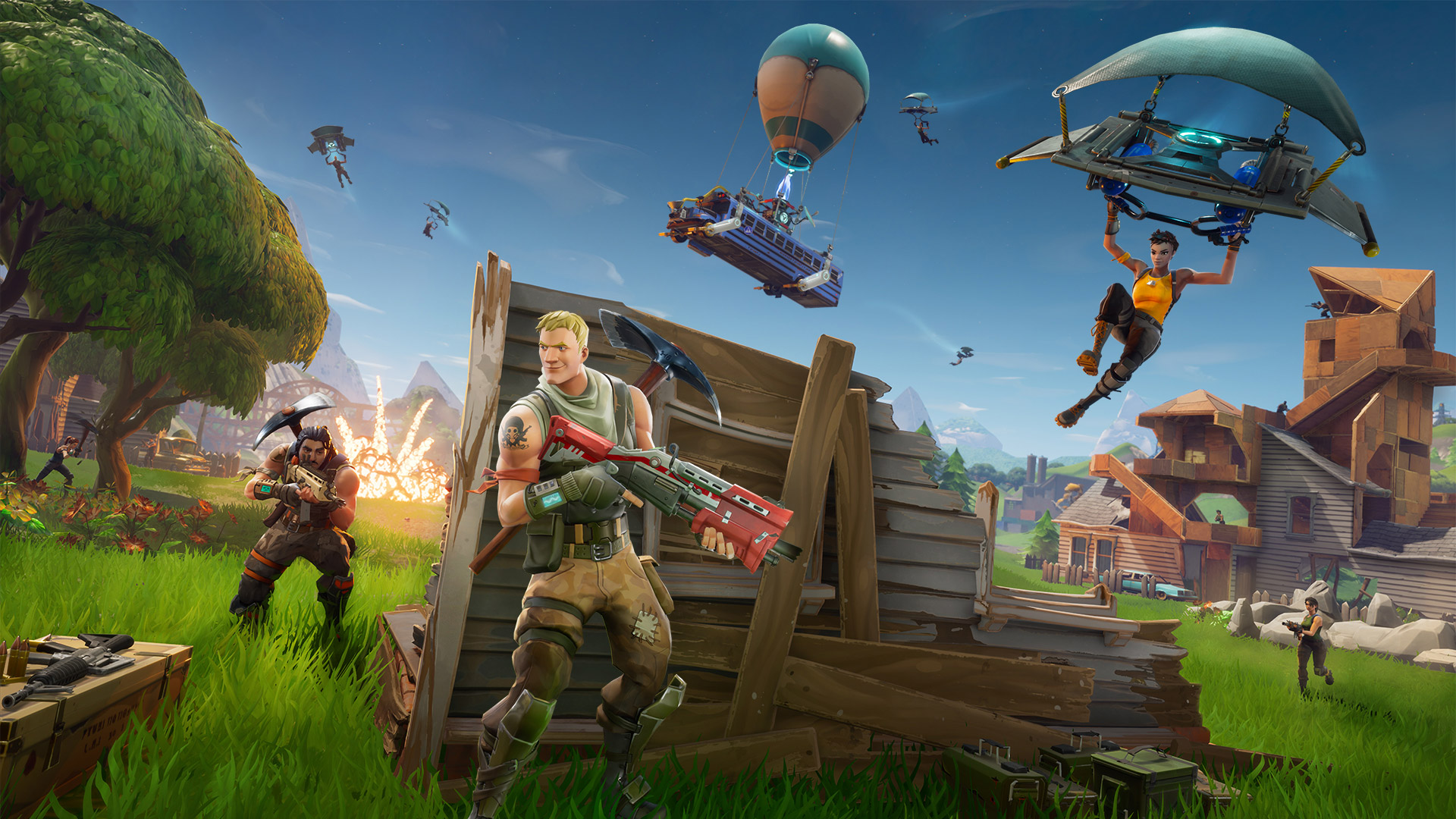 Fortnite Launched on Switch, Sony Bans Ability to Play Cross