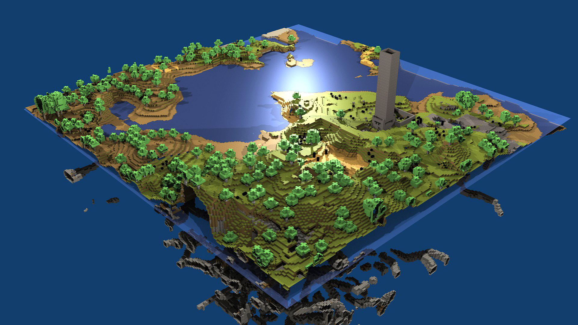 Cube World Map.Investigation What Happened To Cube World