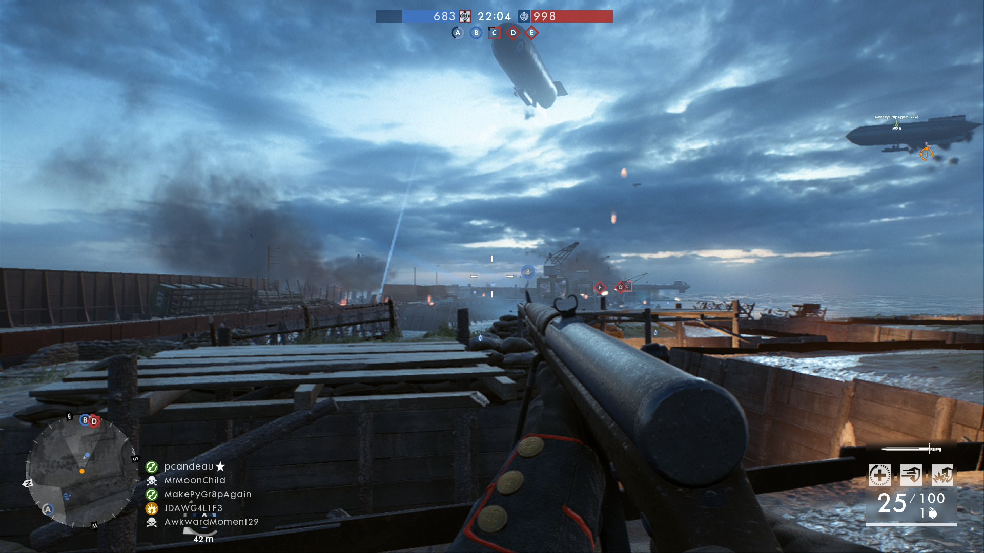Battlefield 1 Turning Tides Zeebrugge And Heligoland Bight Maps